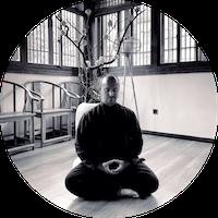 Posture méditative