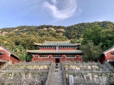 Temple des nuages pourpres à Wudang Shan